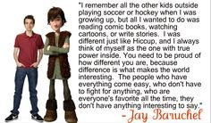 True words!! Can I just say Jay Baruchel just keeps getting more and more awesome?? My hero <3 -- HIccup