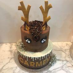 Tarta buttercream reno. Birthday Cake, Desserts, Food, Fondant Cakes, Lolly Cake, Candy Stations, One Year Birthday, Tailgate Desserts, Deserts