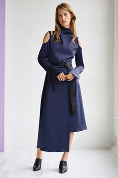 Funnel Neck Showstopper Dress by Boutique