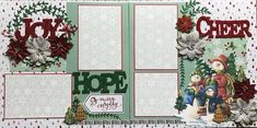 Scrapbook Sketches, Scrapbook Page Layouts, Christmas Scrapbook Layouts, Scrapbooking Ideas, Happy Design, Christmas Crafts, Christmas 2017, Christmas Ideas, Xmas