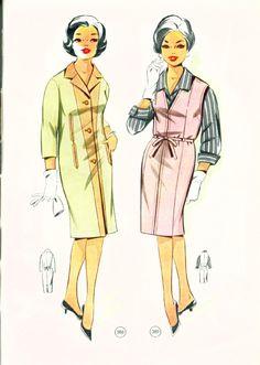 Vintage Sewing Patterns 98 autumn 1965  Patternmaking Drafting Sewing