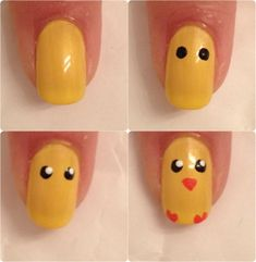 Nails Tutorial | Diy Nails | Nail Designs | Nail Art ( I would do a penguin instead though)