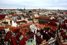 Fairy roofs of Prague...