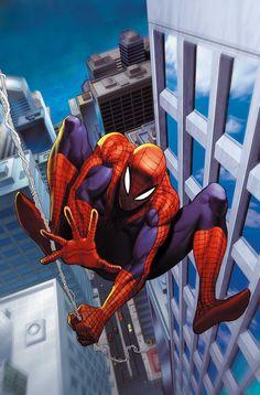 #Spiderman #Fan #Art. (Arial Shot Of City Background Day: Spiderman) By: Ariel Olivetti. (THE * 5 * STÅR * ÅWARD * OF: * AW YEAH, IT'S MAJOR ÅWESOMENESS!!!™)[THANK Ü 4 PINNING!!!<·><]<©>ÅÅÅ+(OB4E)
