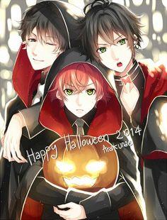 Anime Halloween Diabolik Lovers crossover