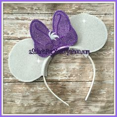 Headband Daisy Friend of Duck Love ITH Mr Miss Mouse Ears Inspired Photo Prop Custom Personalized ~ INSTANT Download Design by Carrie by astitchforyou on Etsy