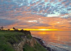 Palos Verdes Sunset, ca. Photo: Randy Ruby www.randyruby.com