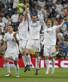 RM reaches the UCL final - Post match celebration