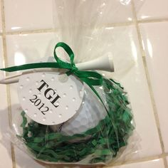 Golf Tournament Favors - this one - we might actually be able to afford to do!