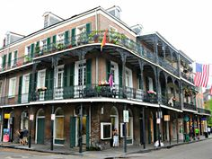 Royal Street Walk, Lots of Historic Buildings – New Orleans French Quarter Condos New Orleans French Quarter, Condo, Mansions, Street, House Styles, Building, Home, New Orleans, House