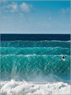 Wave after wave.