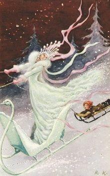 Rudolf Koivu   The Snow Queen, 1940 Je me devais de parler de la Snow Queen, surtout après que ma série préférée Once Upon a Time en est fait le sujet pour cette saison 4 !