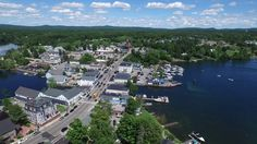 """Wolfeboro is known as """"America's Oldest Summer Resort"""" Well her is the newest sweep of the entire town on the shores of Lake Winnipesaukee."""