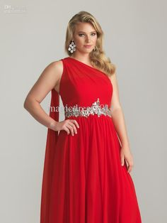 Wholesale New Glamorous Colourful One Shoulder Ruffle Sash Chiffon Long Sexy Crystal Plus Size Evening Dresses Bridesmaid Prom Gowns Custom Made 2013, Free shipping, $119.84-135.52/Piece | DHgate