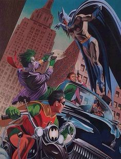 The Dynamic Duo vs The Joker, Penguin and Two-Face - David Michael Beck.