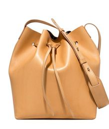 SCHONEBERG: BREMA MAXI BUCKET BAG COLOR BEIGE | Playground Shop