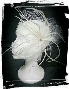 Tocado novia, bridal headpieces, bridal millinery, hats