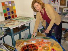Karen Pearle, 2003 Mosaic Art, Mosaics, Pinball, Pearls, Mosaic Artwork, Beads, Mosaic, Gemstones, Pearl