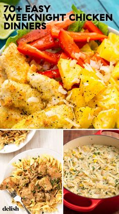Need a new go-to supper? These quick chicken dinners recipes are perfect for a stress-free weeknight meal, and make enough so that you can have leftovers for lunch. Thin Chicken Cutlet Recipes, Chicken Breast Recipes Dinners, Chicken Recipes, Quick Dinner Recipes, Quick Meals, Fast Recipes, Planning Menu, Soup Appetizers, Turkey Recipes