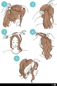 20 cute hairstyles that are extremely easy to do - hairstyles .- 20 süße Frisuren, die extrem einfach zu tun sind – Frisuren Modelle 20 cute hairstyles that are extremely easy to do - Easy To Do Hairstyles, Cute Simple Hairstyles, Hairstyles For School, Braided Hairstyles, Elegant Hairstyles, Hairstyles Videos, Open Hairstyles, Bandana Hairstyles, Cute Hair Styles Easy