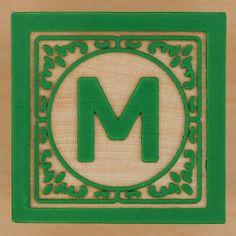 Block Letter M by Leo Reynolds, via Flickr