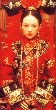 """Zhāng Zǐyí portrays the character of Jiao Long in the movie """"Crouching Tiger, Hidden Dragon""""......"""