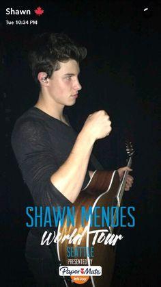 Shawn mendes // s.m // snapchat