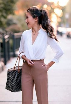 ideas clothes for women in office attire Classic Outfits, Chic Outfits, Spring Outfits, Trendy Outfits, Fashion Outfits, Chic Office Outfit, Office Attire, Office Chic, Corporate Wear