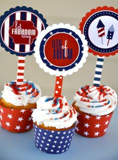 4th of July PRINTABLE Party by Love The Day