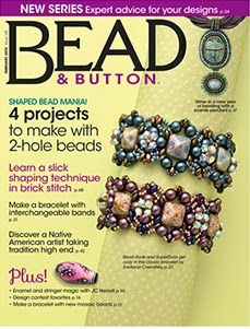 Liri's Gallery of Beaded Jewelry: New publication in Bead&Button magazine