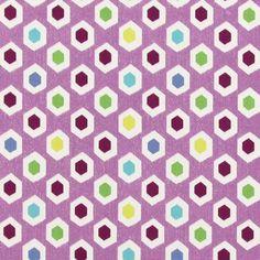 Halbpanama Bahia 1 - pastellviolett - Prestigious Textiles - Grafische Prints - stoffe.de