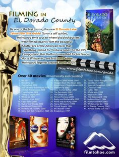 and have been one of Hollywood's most popular filming locations. Do you remember that scene from Get the and visit these places. El Dorado County, The Beautiful South, South Lake Tahoe, Strawberry Lemonade, Filming Locations, Do You Remember, Outdoor Recreation, Places To Eat, Lodges