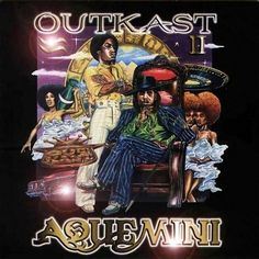 """Aquemini is the third studio album by American hip hop duo OutKast, released on September 29, 1998. The title is a portmanteau of the two performers' Zodiac signs: Aquarius (Big Boi) and Gemini (André 3000), which is indicative of the album's recurring theme of the differing personalities of the two members. The group recorded the majority of the album in Bobby Brown's Bosstown Recording Studios in Atlanta, Georgia. My favorite tracks are """"Rosa Parks"""" and """"Da Art Of Storytellin' (Pt. 1)""""."""