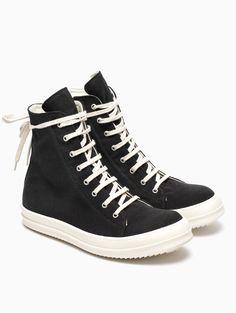 RICK OWENS DRKSHDW VEGAN Ramones Sneakers