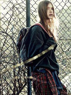 67b9a86d47f5 Julia Hafstrom By Andreas Sjodin For Elle Sweden September 2014 Fall Looks,  September 2014,