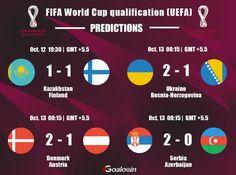 #FIFAWorldCup #FIFA #WorldCup #WorldCupqualification #football #soccer #soccergame #footballtips #footballgame #sport #prediction #livescore #Kazakhstan #Finland #Ukraine #BosniaHerzegovina #Denmark #Austria #Serbia #Azerbaijan