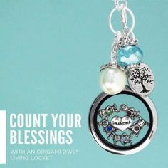 Origami Owl Living Lockets are the perfect mother's day/grandma gift! Enter to win one!