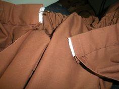The American Homemaker: Easy Pioneer Trek Skirts from Thrift Store Sheets & My Own Trek