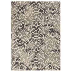 This 100% wool rug is hand crafted. A dynamic pattern in soft neutral tones provide a versatile foundation for any room.    MATERIAL: 100% Wool, Cotton Canvas backing    [share]
