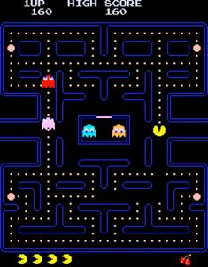 Pac-Man for MAME - Arcade game released in 1980 - The Video Games Museum has screenshots for this game Childhood Toys, Childhood Memories, Festa Do Pac Man, Video Game Museum, Pac Man Videos, Master System, Life Hacks, Man Games, Games Images