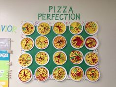 Fraction Pizza 4th Grade...this looks so cool! (Picture Only)