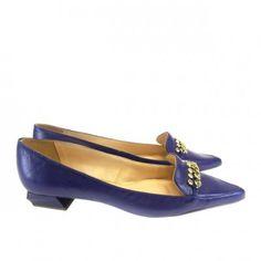 Scarpin - Sapatilha Azul 1342 Século XXX