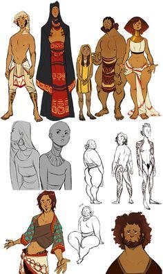 The El-Amin Family by Chopstuff.deviantart.com on @DeviantArt