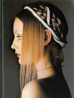 Ingrid Boulting photographed by Barry Lategan for Vogue UK, September 1970.