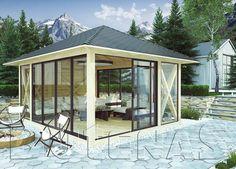 Das Pavillon Modell TURE stellt mit einer Grundfläche Typ-1 3,02 m x 3,02 m bis 5,02 m x 5,02 m ausreichend Platz. Gartenpavilon TURE gibt es in sechs Varianten. Jetzt das Gartenpavillon online bestellen!