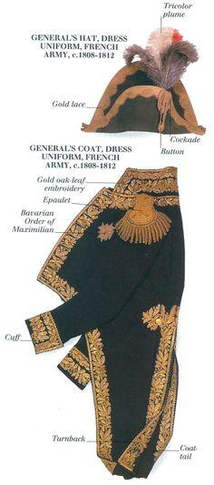 French General's Dress Uniform
