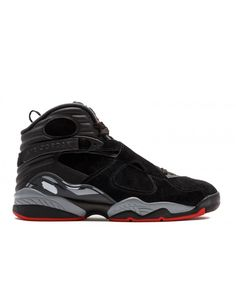 c1863f3ab89 Air Jordan 8 Retro Black Gym Red Black Wolf Grey 305381 022 Cheap Jordans  For Sale