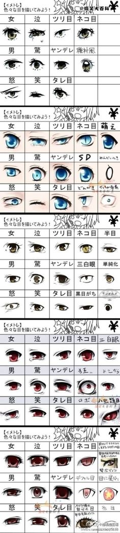 Erm, well, I can't read the symbols, but some of these eye designs are pretty neat