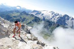 Killian at the Dolomites