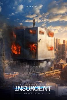 Tris's World Is on Fire in the New Insurgent Poster]]